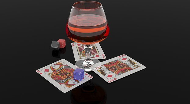 Cards, Dice, Whiskey, Casino, Whiskey