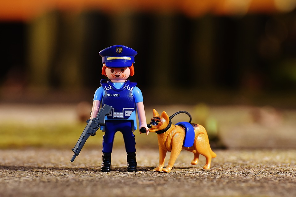 subway surfers, police and dog