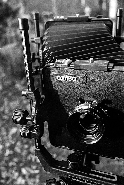 Large Format Photography Film Analog Equipment