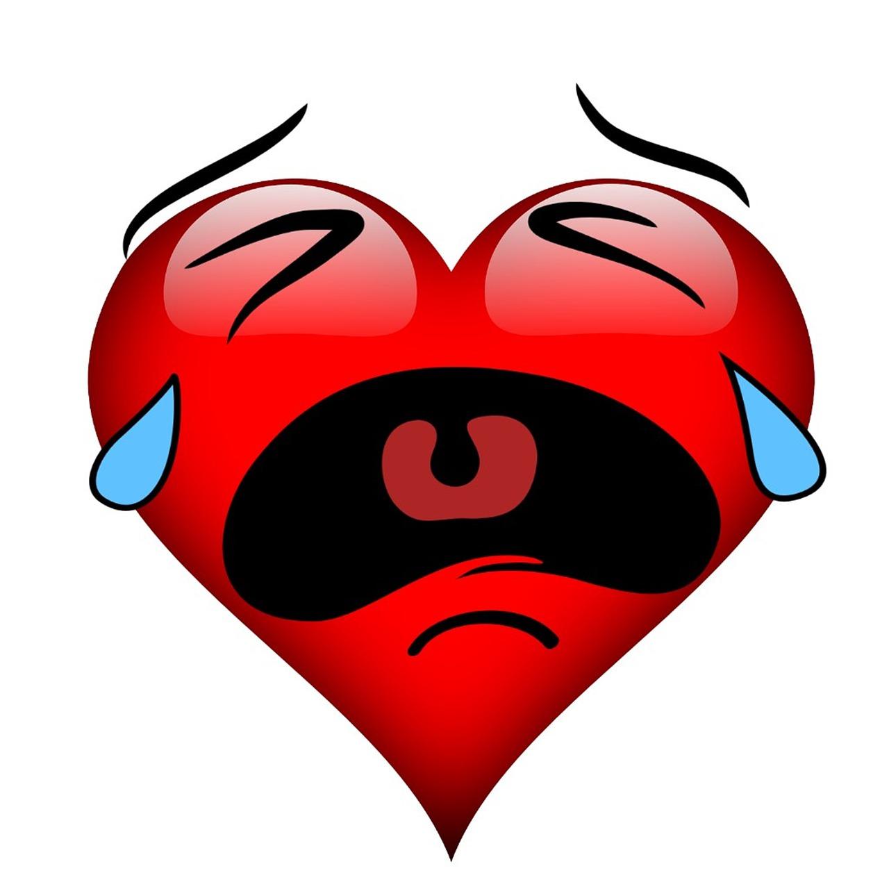 картинки грустные сердечки что