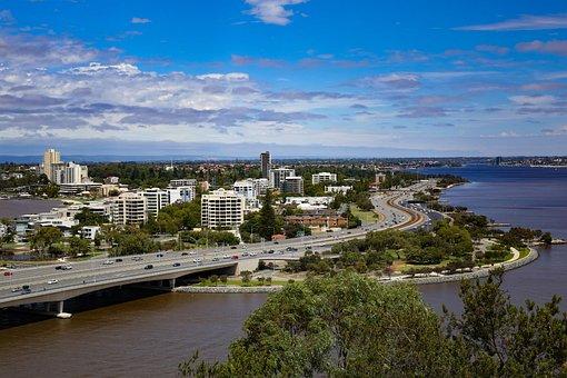Perth, Australia, Building, Sky