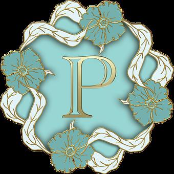Alphabet, Letter, Initial, Monogram