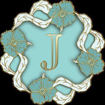 Alphabet Letter Initial Monogram Backgroun
