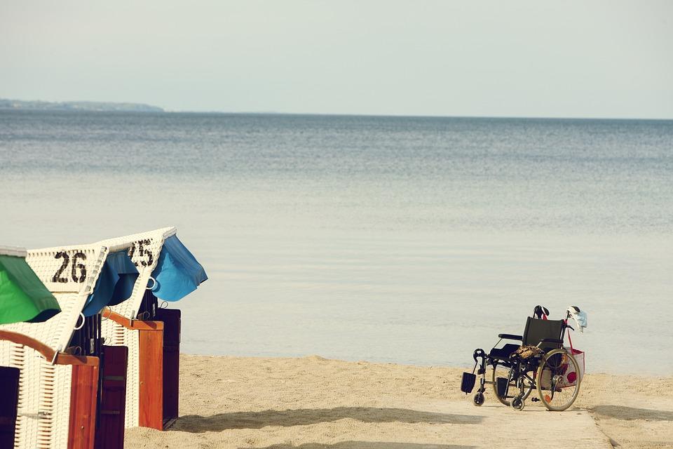 Personnes En Chaise Roulante Handicap Spa Handicaps