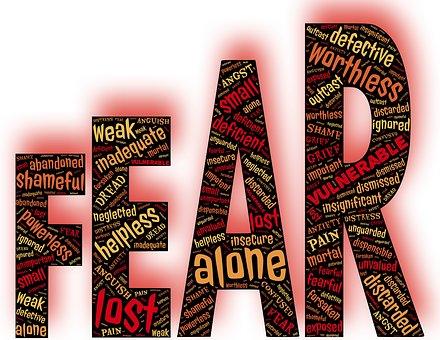恐怖, 感情, 不安, 脆弱性, 露出, 懸念, 落胆, 疑い, ホラー