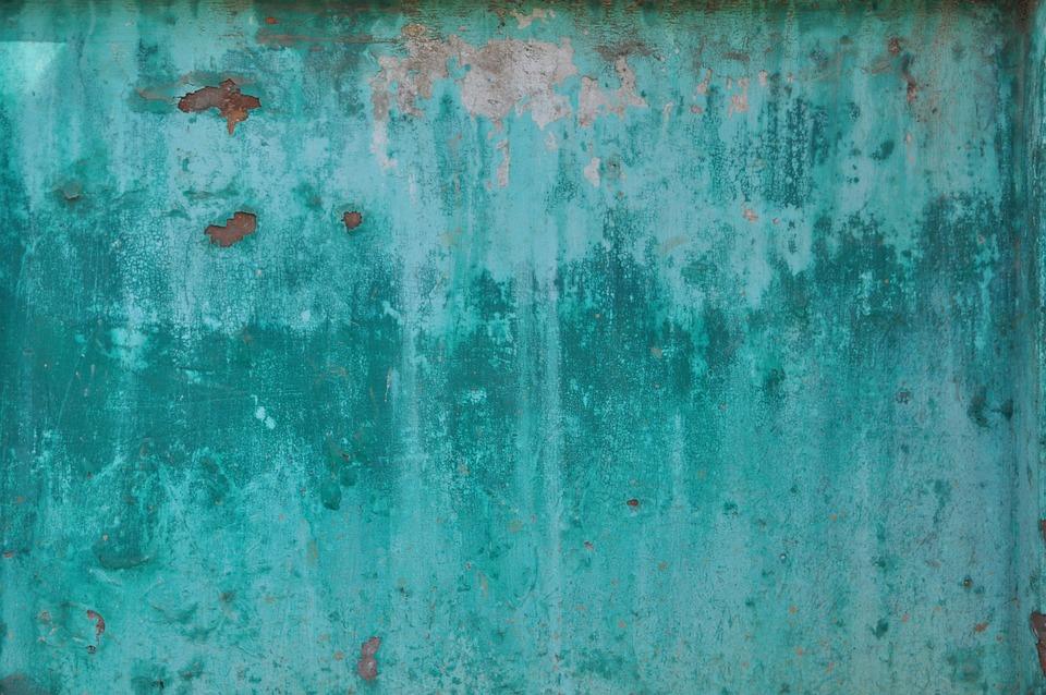 Turquoise Sheet Weathered 183 Free Photo On Pixabay