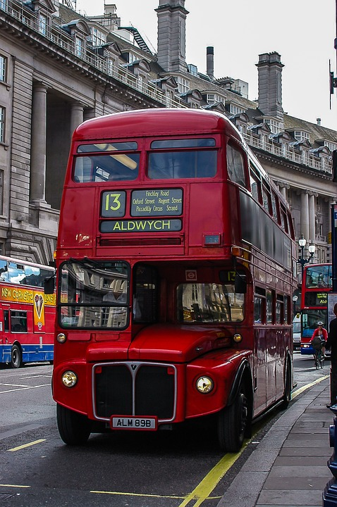 London, Britain, Bus, Red, Rot, City, Großbritannien