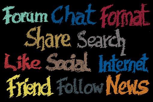 Label, Social, Media, Forum, Chat