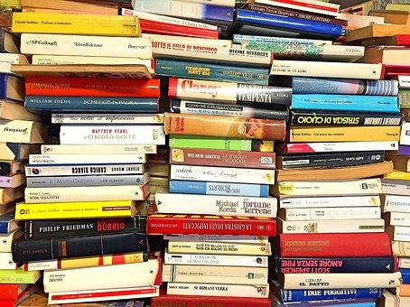 Libros, Pila De Libro, Pila, Literatura