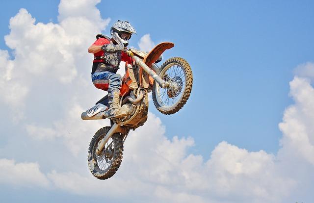 free photo dirt bike air jump free image on pixabay