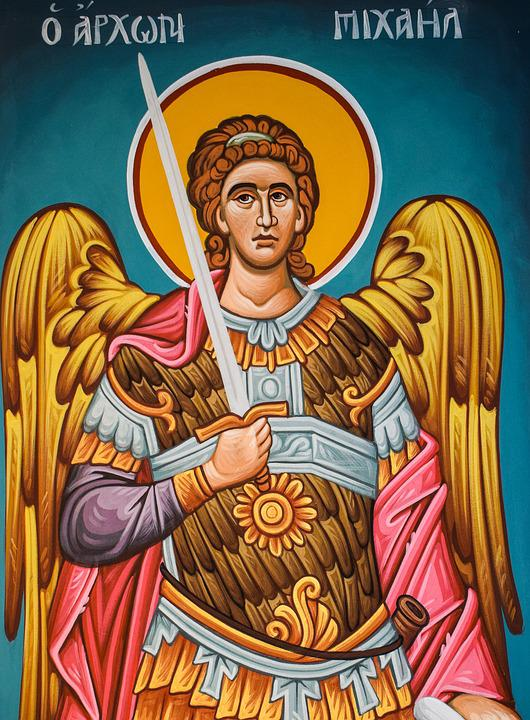 Archon, Michael, Ange, Archange, Iconographie, Église