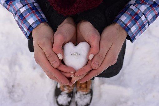 Love Engaged Romantic Romance Couple Toget