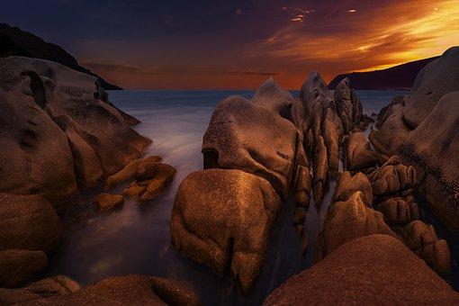 Sunset long exposure sky abendstimmung scr