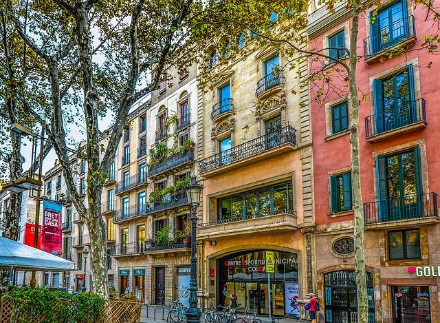 Barcelona Spain Facade 183 Free Photo On Pixabay