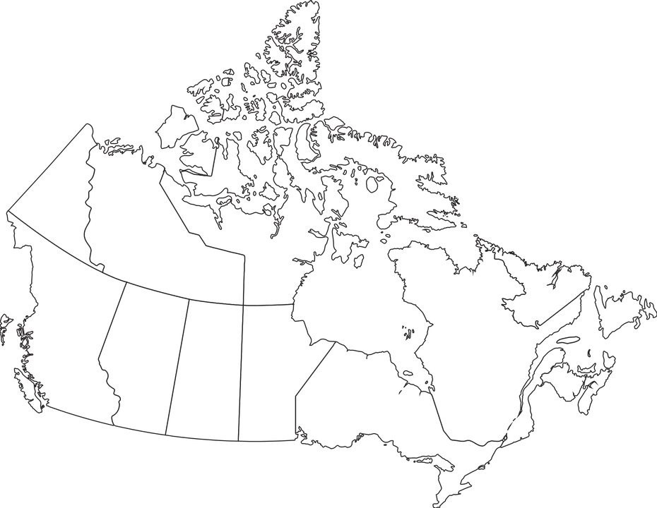 Map Canada Provinces 183 Free Vector Graphic On Pixabay
