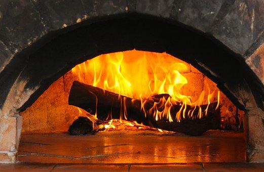 Burning Log, Flame, Fire, Wood, Heat