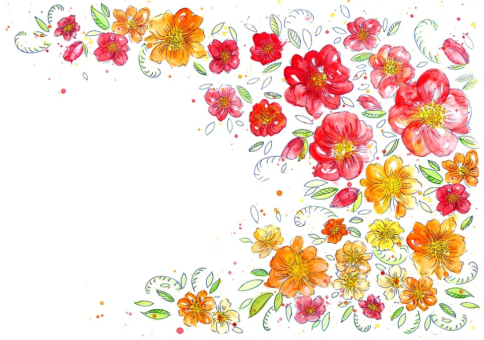 background flowers watercolor 183 free image on pixabay