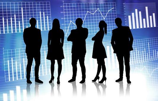 ビジネス, 人, チームワーク, チーム, 企業, 会社, 統計, 解析