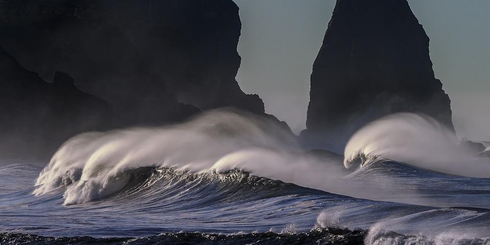 Beach, Costa Del Pacifico, Ocean, Costa, Pacifico, Mare