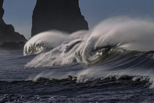 Wave, Water, Sea, Ocean, Pacific
