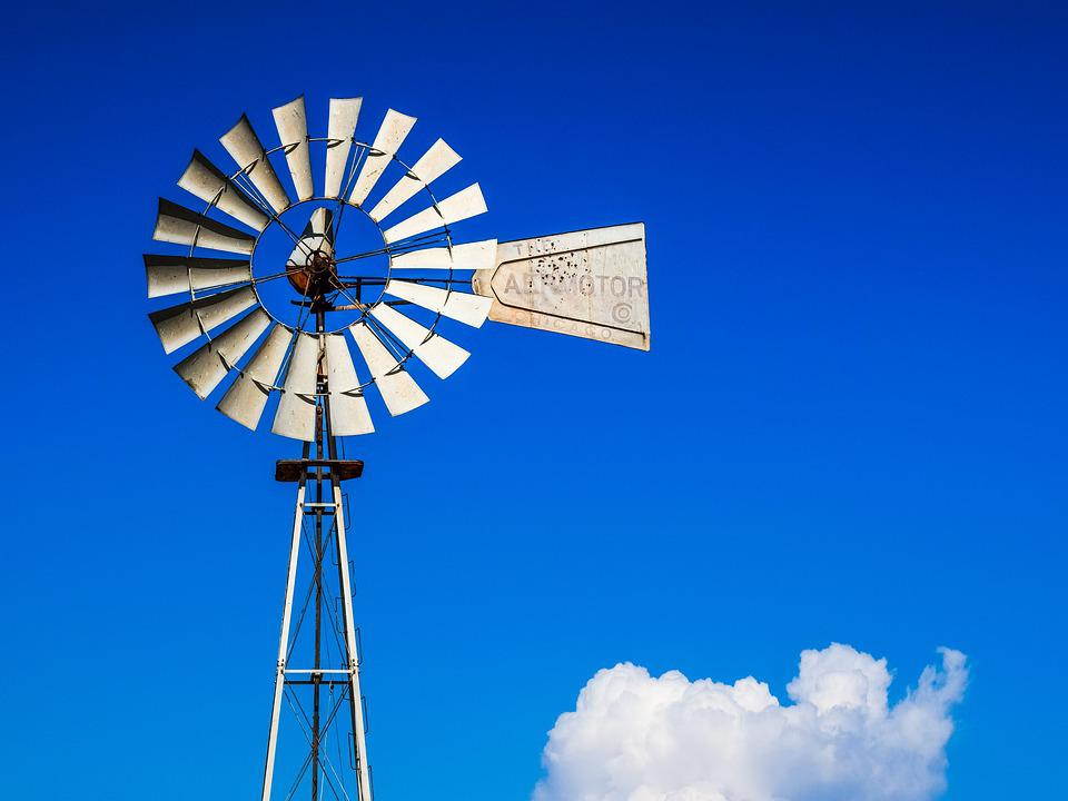 windmill farm wind free photo on pixabay