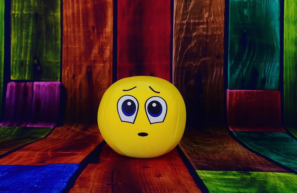 Smiley, Sorpreso, Triste, Mi Dispiace, Dolce