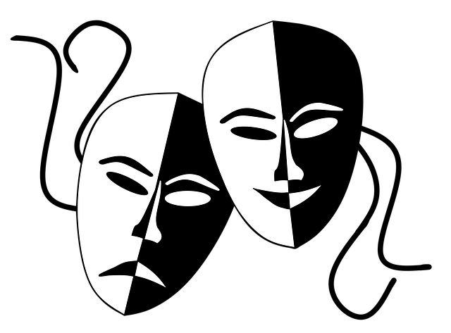 Lambang Bipolar: Theatermasken Masks Theater · Free Image On Pixabay
