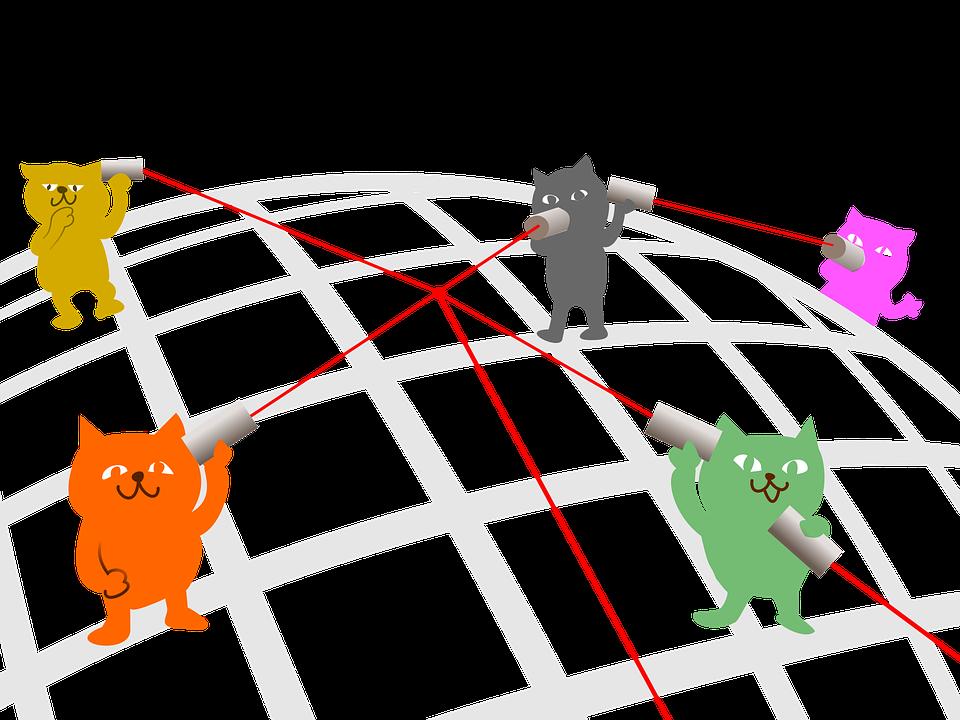 yarn phone communications network  u00b7 free image on pixabay