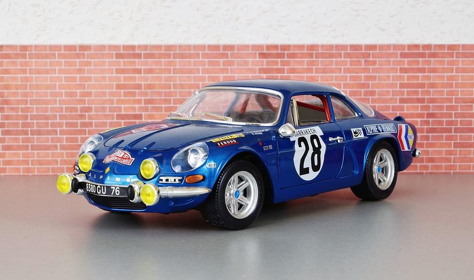 model car renault renault alpine model auto