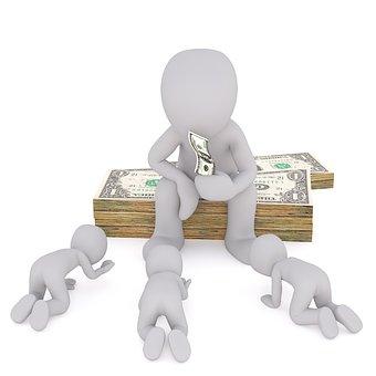 Dollar, 通貨, 資本主義, 資金, 紙幣, 寄付する, 札, 見える
