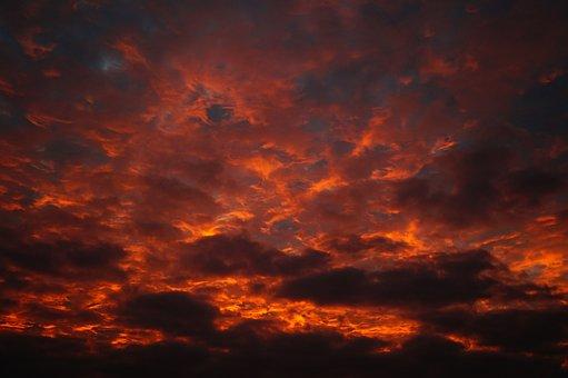 Sunlight, Sunbeam, Vibrant, Cloud, Storm