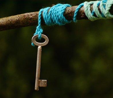 Key, Cord, Symbol, Symbolism, Knot