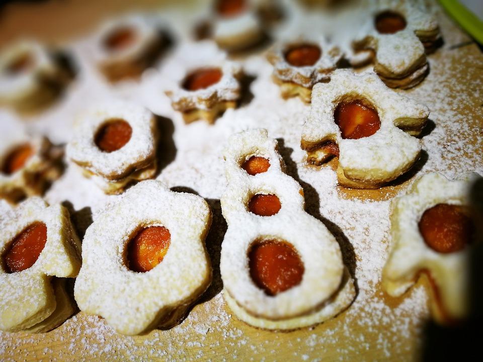 Linzer Weihnachten Kuchen Kostenloses Foto Auf Pixabay