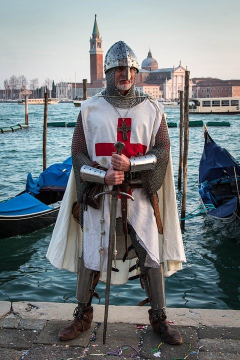 Knights Templar, Venice, Carnevale, Costume, Carnival