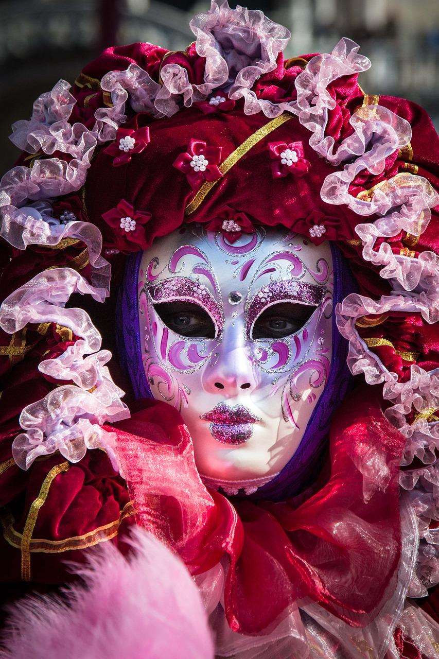 фото венецианских масок опубликована рубрике