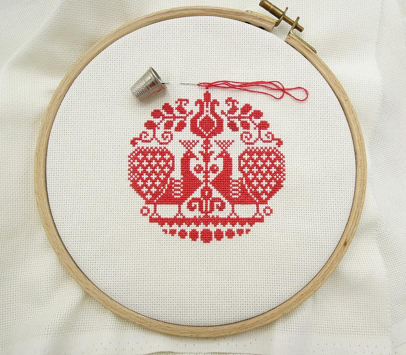 Cross Stitch Alphabet Charts: Red Cross - Free images on Pixabay,Chart