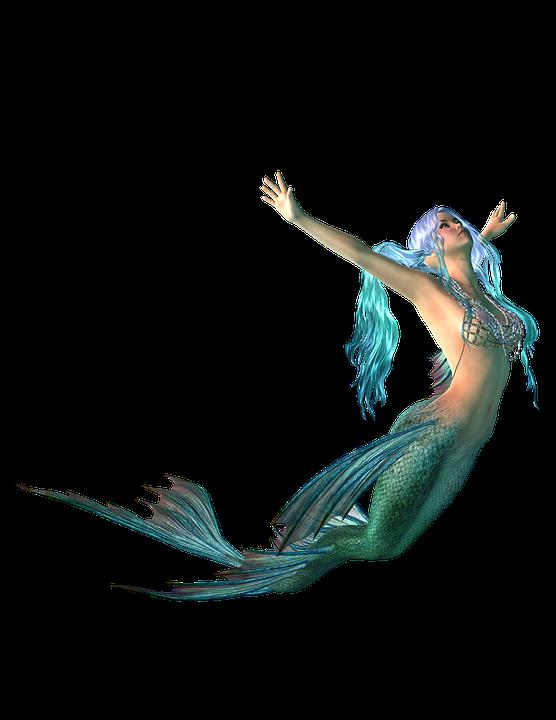 Free Illustration Mermaid Png Image On Pixabay 2093673