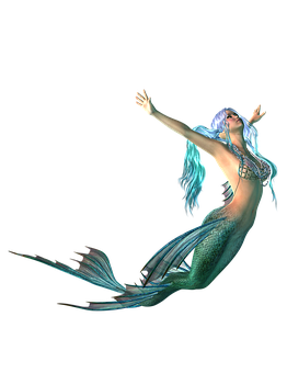 Mermaid Png Transparent Background Fantasy