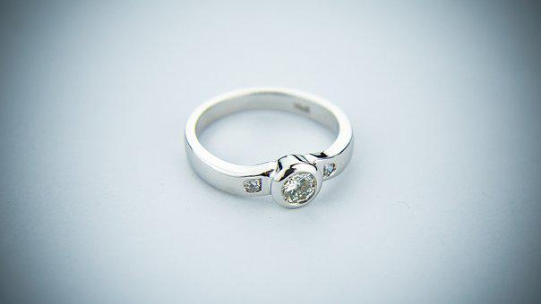 Engagement Ring Wedding Ring Wedding Band