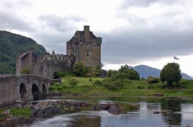 Castle Bridge Scotland 183 Free Photo On Pixabay