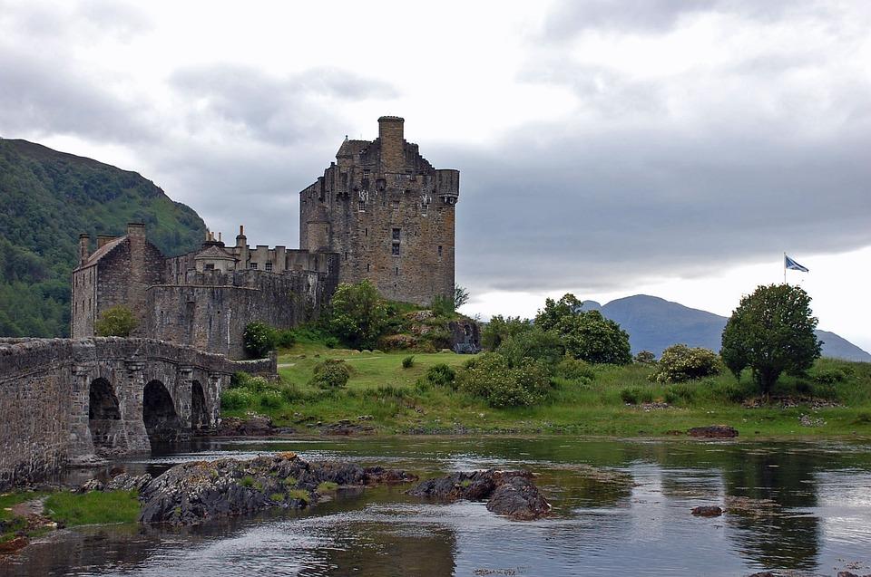 Kasteel, Brug, Schotland, Reizen, Landmark, Toerisme