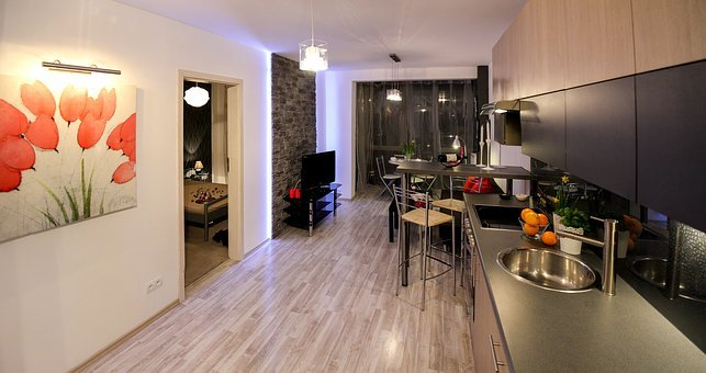 Apartment, Room, House