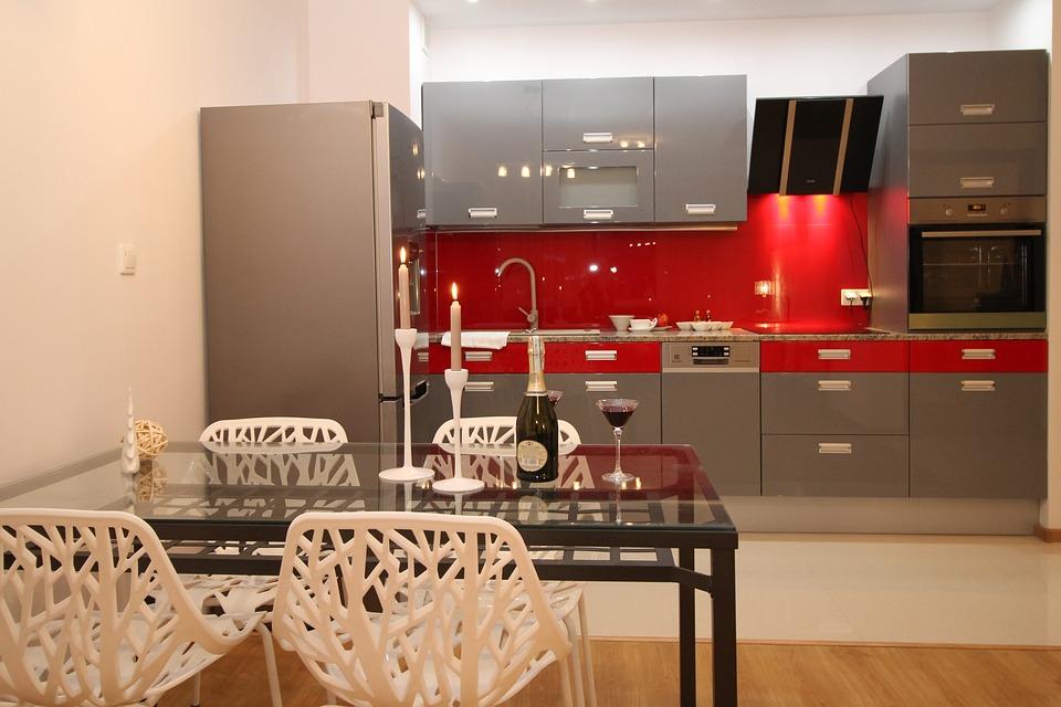 Kitchen Kitchenette Apartment Room House