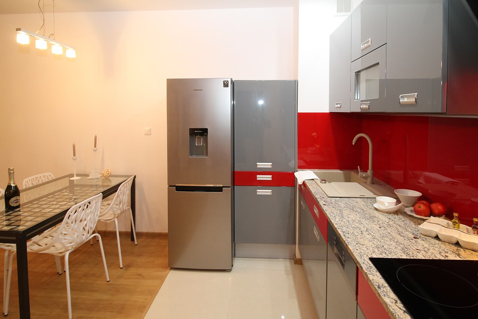Genial Kitchen Kitchenette Apartment Room House