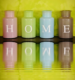home at home vases colorful - Home Decor Photos Free