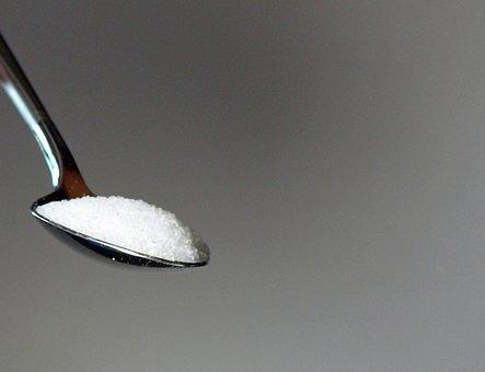 Sugar, Spoon, Sugar Scoop, Sweet