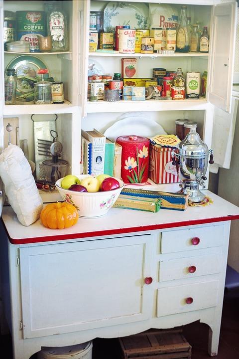 retro kitchen vintage cupboard retro vintage
