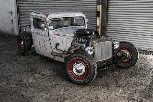 Vehicle, Rat Rod, Hot Rod, Transport