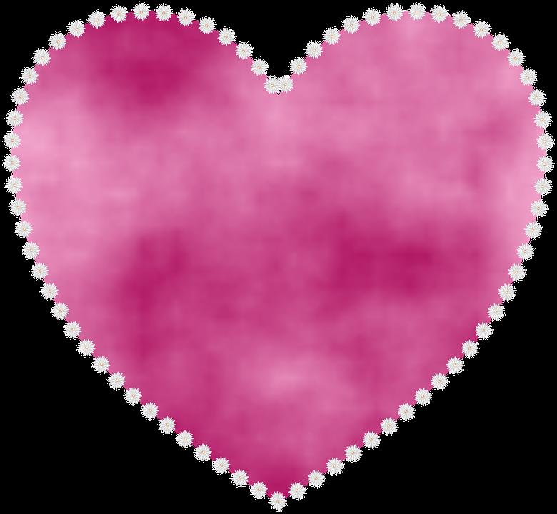 Coeur Fleur Forme Image Gratuite Sur Pixabay