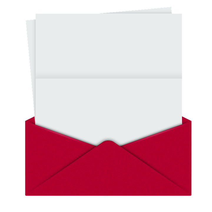 on red about envelope free image on pixabay